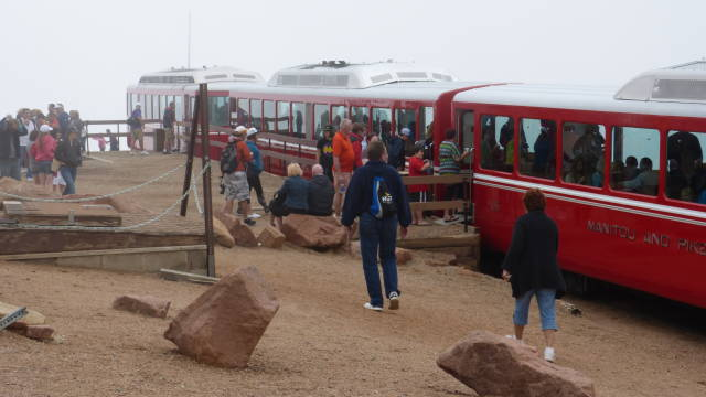 Pikes Peak Cog Railroad Train