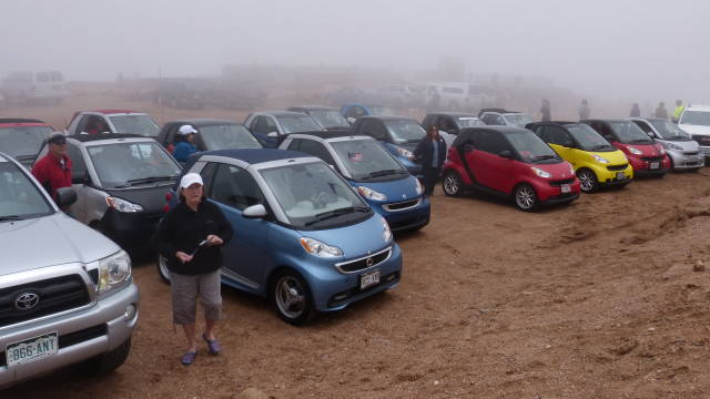 Pikes Peak smart cars